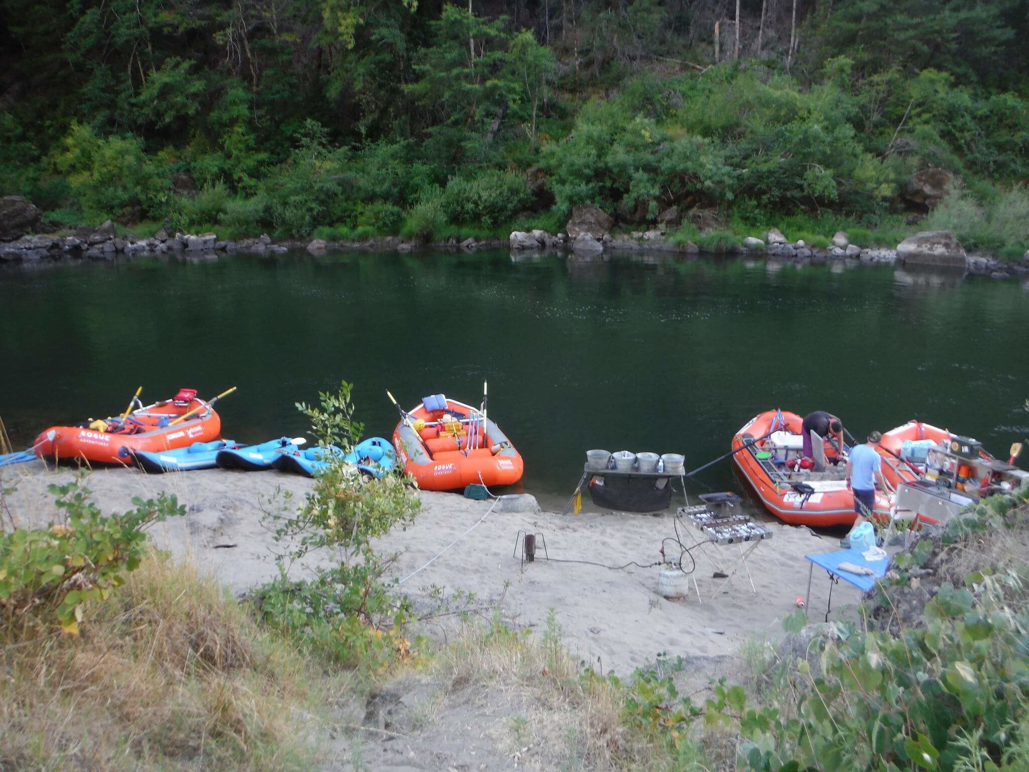 4 Day Camp Whitewater Trip