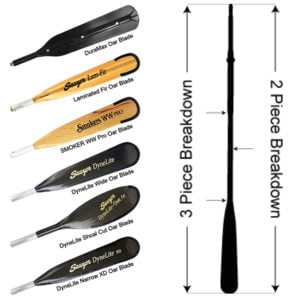 Picture of various SawerMX Oars