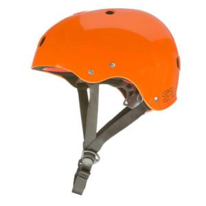Picture of our rafting helmet