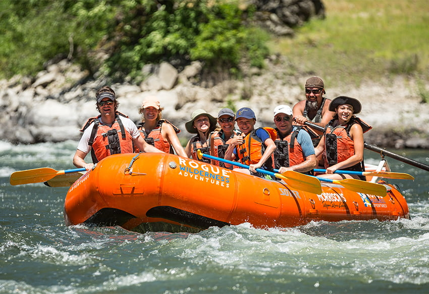 Family Rafting Trips Feature