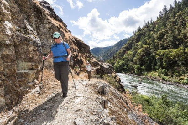 Spring is a lovely time to hike along the Rogue River