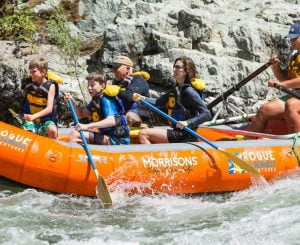 Rafting the Wild Rogue River
